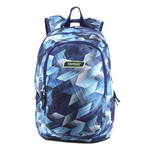 Studentský batoh Target Modrý se vzorem
