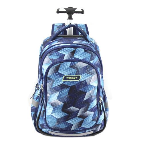 Školní batoh Trolley Target Modrý se vzorem