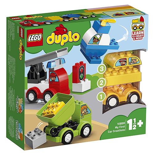 Stavebnice LEGO Duplo Moje první vozidla, 34 dílků