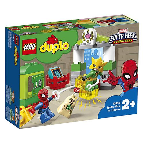 Stavebnice LEGO Duplo Spider-Man vs. Electro, 29 dílků