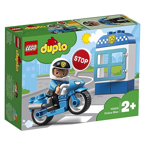 Stavebnice LEGO Duplo Policejní motorka, 8 dílků