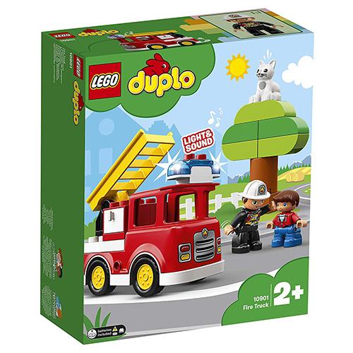 Stavebnice LEGO Duplo Hasičské auto, 21 dílků