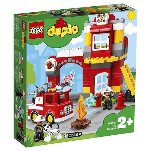 Stavebnice LEGO Duplo Hasičská stanice, 76 dílků