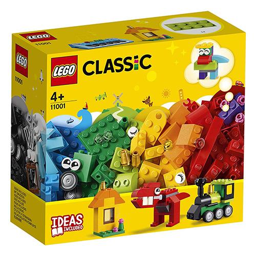 Stavebnice LEGO Classic Kostky a nápady, 123 dílků