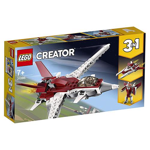 Stavebnice LEGO Creator Futuristický letoun, 157 dílků