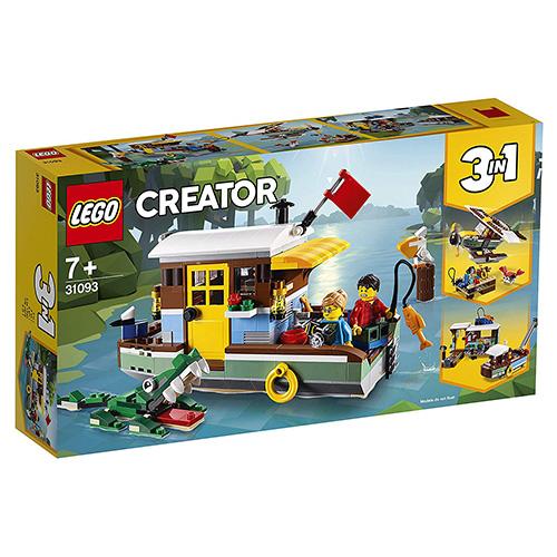 Stavebnice LEGO Creator Říční hausbót, 396 dílků