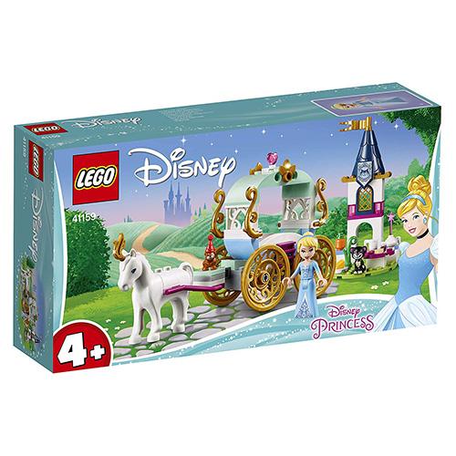 Stavebnice LEGO Disney Princess Projížďka Popelčiným kočárem, 91 dílků