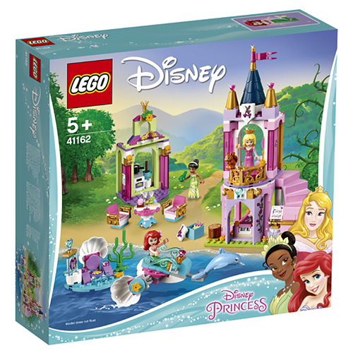 Stavebnice LEGO Disney Princess Královská oslava Ariel, Šípkové Růženky a Tiany, 282 dílků