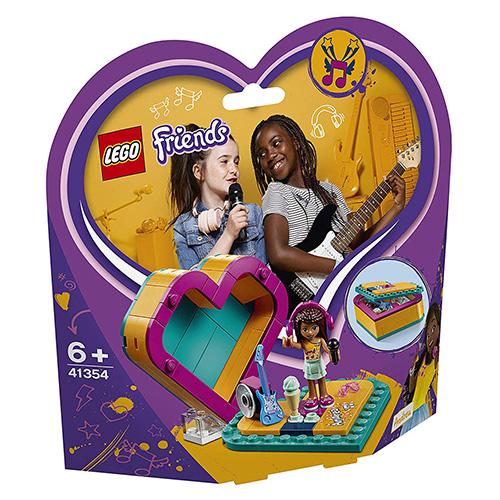 Stavebnice LEGO Friends Andreina srdcová krabička, 84 dílků