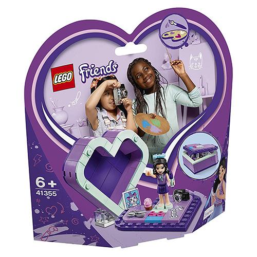 Stavebnice LEGO Friends Emmina srdcová krabička, 85 dílků