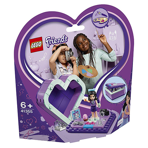 Fotografie LEGO® Friends 41355 Emmina srdcová krabička
