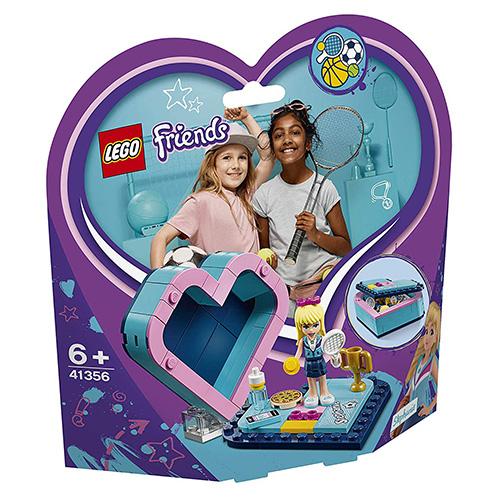 Stavebnice LEGO Friends Stephanina srdcová krabička, 85 dílků