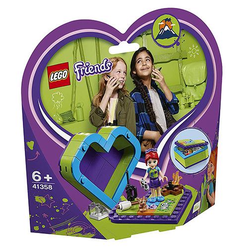 Stavebnice LEGO Friends Miina srdcová krabička, 83 dílků
