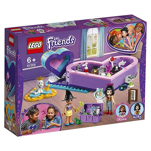 Stavebnice LEGO Friends Balíček srdíčkových krabiček přátelství, 199 dílků