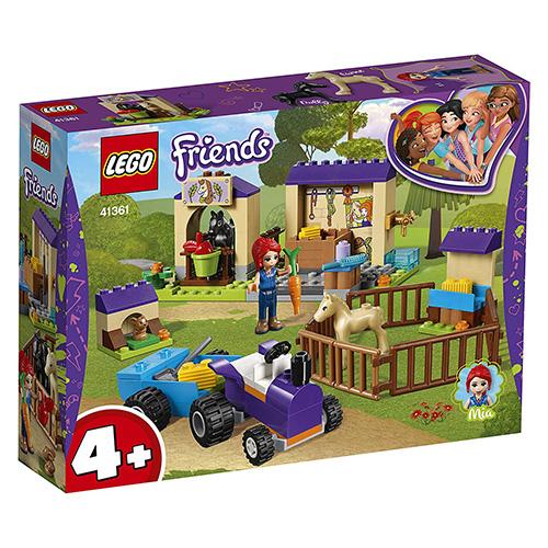 Stavebnice LEGO Friends Mia a stáj pro hříbata, 118 dílků