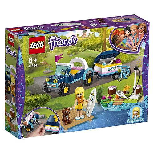 Stavebnice LEGO Friends Stephanie a bugina s přívěsem, 166 dílků
