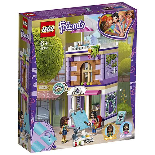 Stavebnice LEGO Friends Emma a umělecké studio, 235 dílků