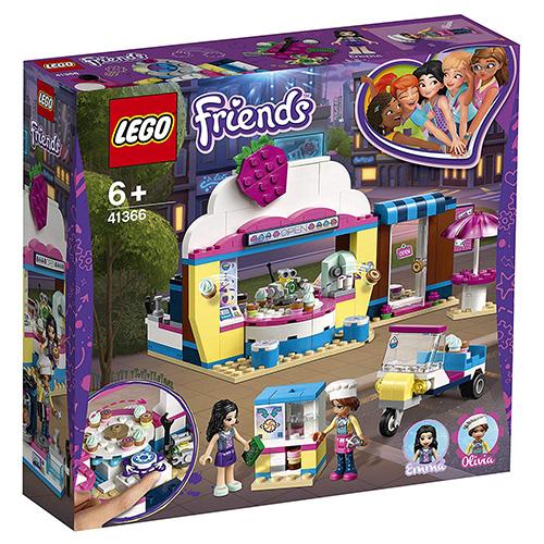 Stavebnice LEGO Friends Olivia a kavárna s dortíky, 335 dílků