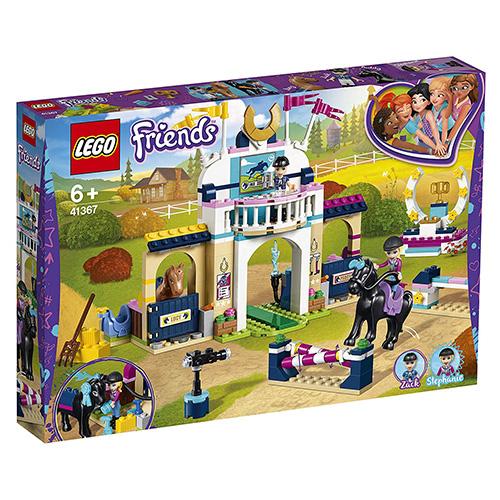 Stavebnice LEGO Friends Stephanie a parkurové skákání, 337 dílků