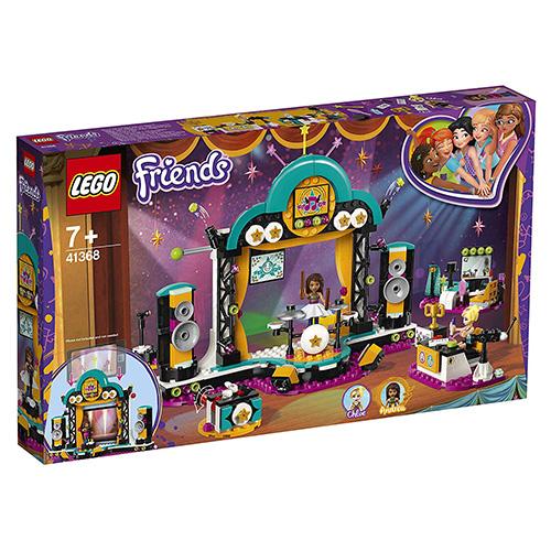 Stavebnice LEGO Friends Andrea a talentová show, 492 dílků