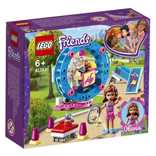 Stavebnice LEGO Friends Hřiště pro Oliviiny křečky, 81 dílků
