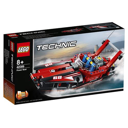 Stavebnice LEGO Technic Motorový člun, 174 dílků