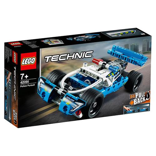Stavebnice LEGO Technic Policejní honička, 120 dílků