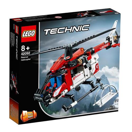 Stavebnice LEGO Technic Záchranářský vrtulník, 325 dílků