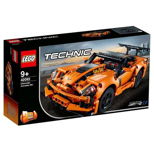 Stavebnice LEGO Technic Chevrolet Corvette ZR1, 579 dílků