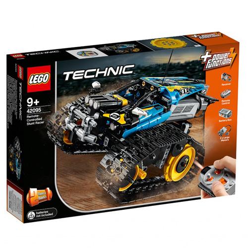 Stavebnice LEGO Technic Kaskadérské závodní auto na dálkové ovládání, 324 dílků