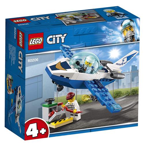 Stavebnice LEGO City Hlídka letecké policie, 54 dílků