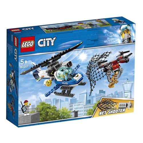 Stavebnice LEGO City Letecká policie a dron, 192 dílků
