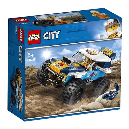 Stavebnice LEGO City Pouštní rally závoďák, 75 dílků