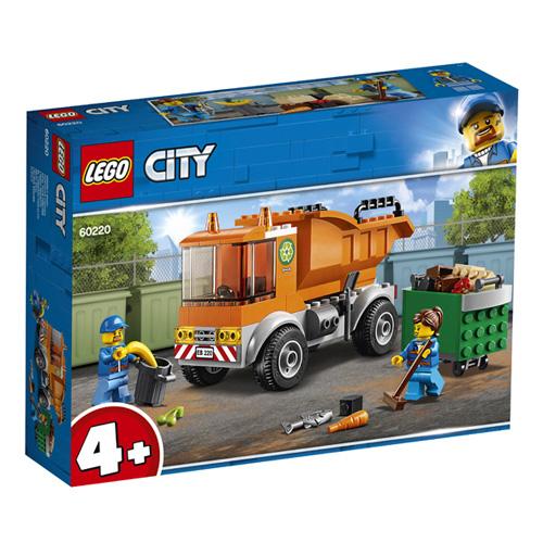 Stavebnice LEGO City Popelářské auto, 90 dílků