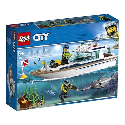 Stavebnice LEGO City Potápěčská jachta, 148 dílků