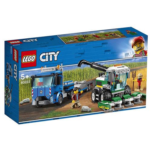 Stavebnice LEGO City Kombajn, 358 dílků