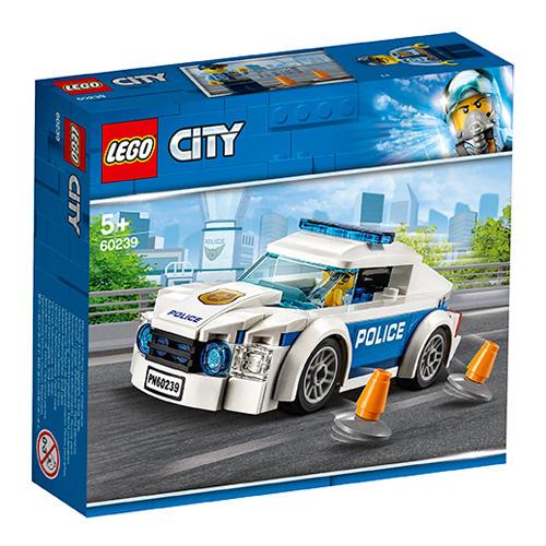 Stavebnice LEGO City Policejní auto, 92 dílků