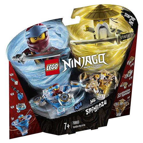 Stavebnice LEGO Ninjago Spinjitzu Nya a Wu, 227 dílků