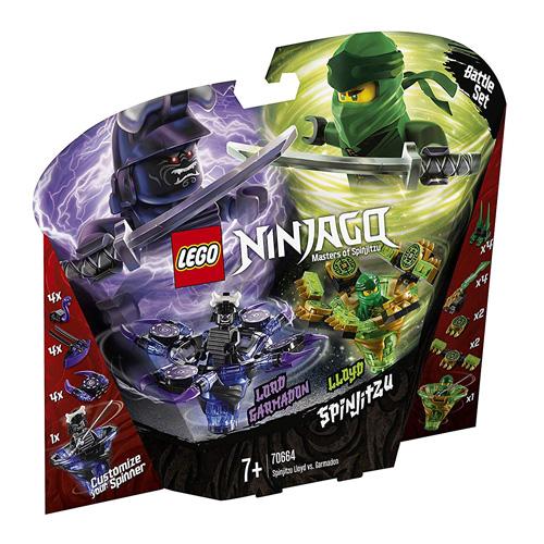 Stavebnice LEGO Ninjago Spinjitzu Lloyd vs. Garmadon, 208 dílků
