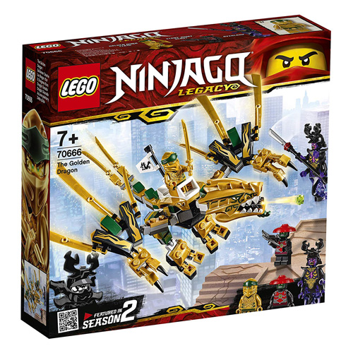 Stavebnice LEGO Ninjago Zlatý drak, 171 dílků