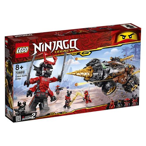 Fotografie LEGO Ninjago 70669 Coleův razicí vrták Lego Ninjago