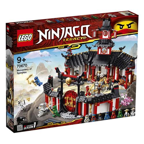 Stavebnice LEGO Ninjago Chrám Spinjitzu, 1070 dílků