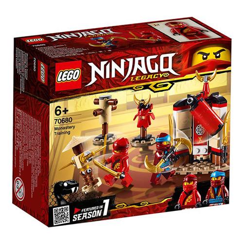 Stavebnice LEGO Ninjago Výcvik v klášteře, 122 dílků
