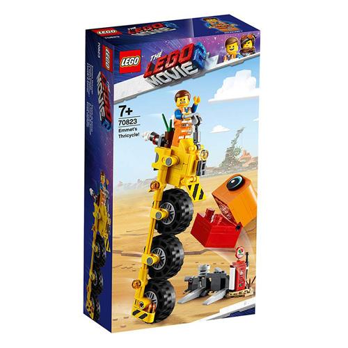 Stavebnice LEGO Movie 2 Emmetova tříkolka!, 174 dílků
