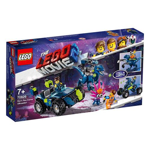 Stavebnice LEGO Movie 2 Rexův rextrémní terénní vůz!, 236 dílků