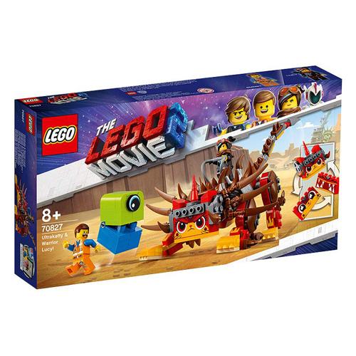 Stavebnice LEGO Movie 2 UltraKatty a válečnice Lucy!, 348 dílků