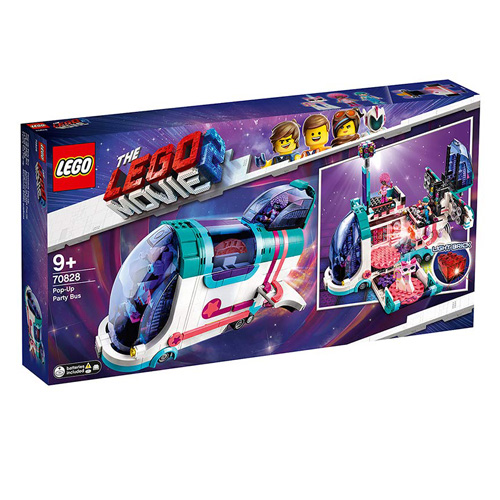 Stavebnice LEGO Movie 2 Vyklápěcí party autobus, 1024 dílků