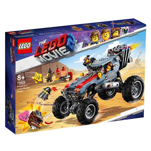 Stavebnice LEGO Movie 2 Úniková bugina Emmeta a Lucy!, 550 dílků
