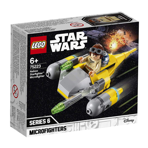 Stavebnice LEGO Star Wars Mikrostíhačka Starfighter Naboo, 62 dílků