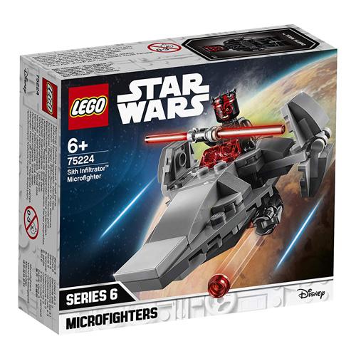 Stavebnice LEGO Star Wars Mikrostíhačka Sithů, 92 dílků